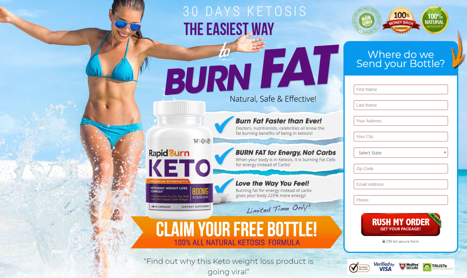 Rapid Burn Keto Buy